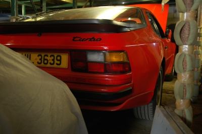 Porsche 944 Turbo restoration project Ferdinand 1