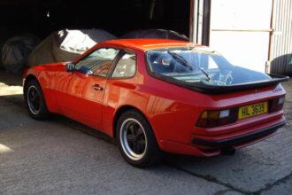 Porsche 944 Turbo restoration project Ferdinand 5