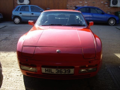 Porsche 944 Turbo restoration project Ferdinand 7