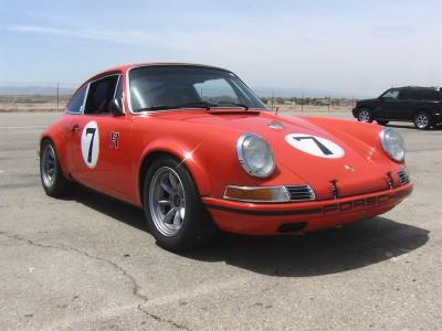 Hot Rod Porsche 911 T on Minilite wheels