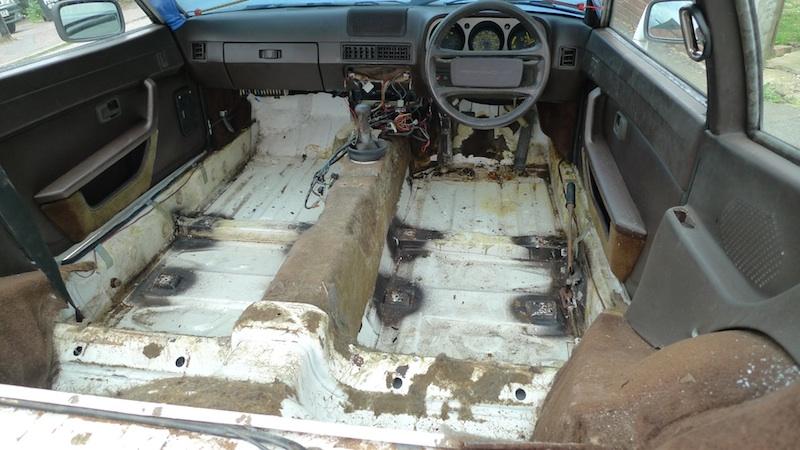 Porsche 944 Interior Restoration