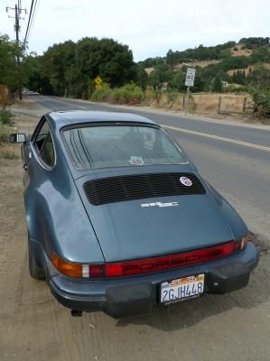 California Road and Porsche 911 SC