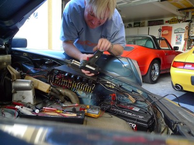 Fixing up my Porsche 911 SC