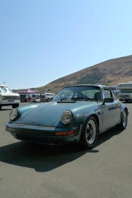 Porsche 911 SC in California