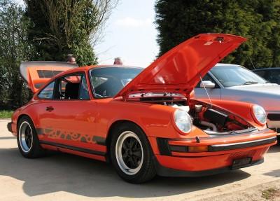 Orange Tuthill Porsche