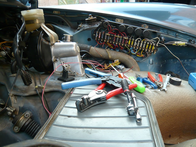 Porsche 911 Sc Wiring Repair Project