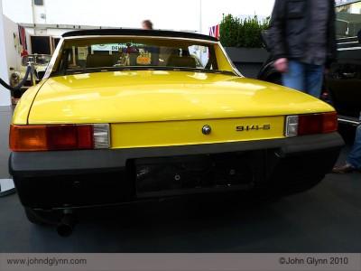 Porsche 914 Yellow Essen