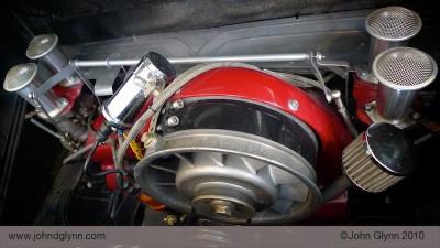 Porsche 356 Super 1600 engine Essen
