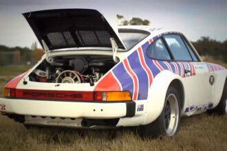 Walter Rohrl Rally Porsche