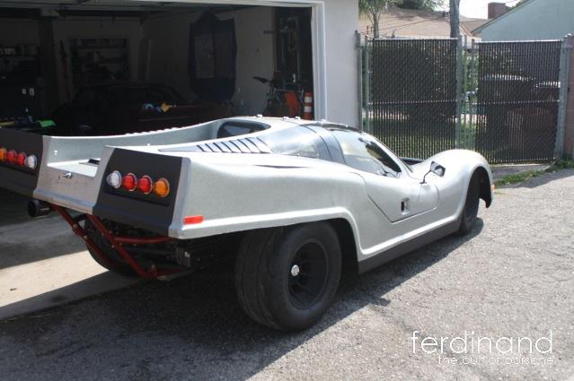 Porsche 917 laser kit car
