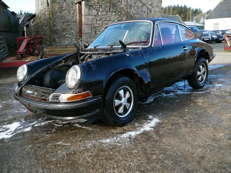 First/Earliest LWB Porsche 911 sells on eBay - Ferdinand