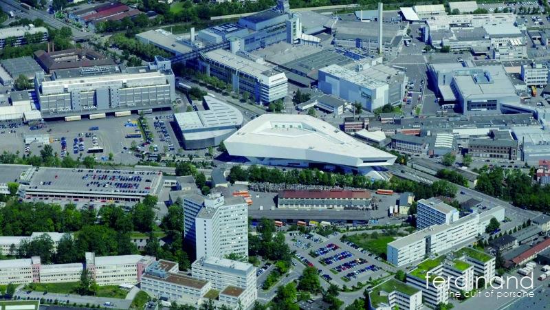 More Porsche Investment Stuttgart Training Centre Ferdinand
