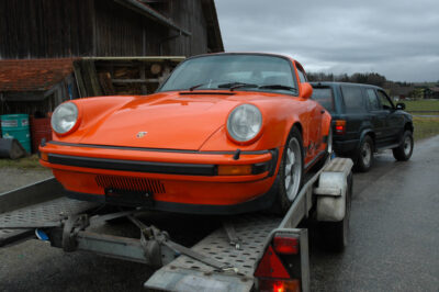 Orange 911 Ferdinand Porsche Magazine