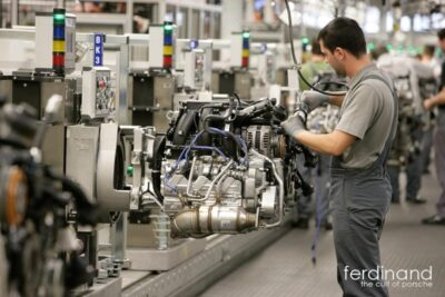Porsche Assembly building 2