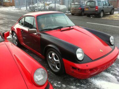 964 Patchwork Porsche
