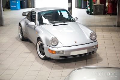 Porsche 964 Turbo On Fuchs Alloy Wheels Ferdinand