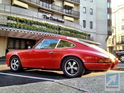 Ferdinand Magazine RGruppe Porsche 911 hot rod London 1
