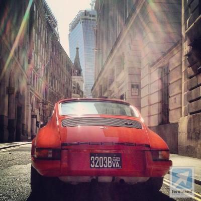 Ferdinand Magazine RGruppe Porsche 911 hot rod London 4