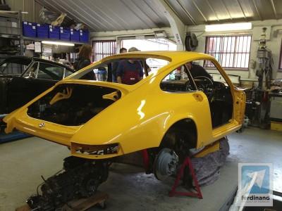 Autofarm Porsche 911 S restoration (2)