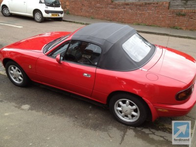 John Glynn Mazda MX5 Paint Correction UK
