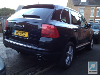 Porsche Cayenne Paint Correction 7