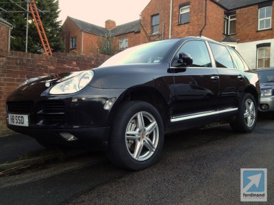 Porsche Cayenne Paint Correction 8