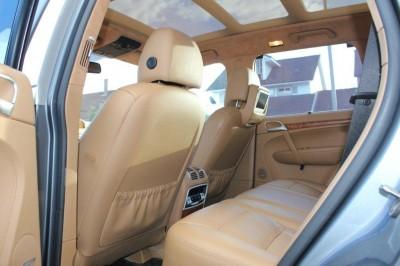 Porsche Cayenne Headrest DVD 3