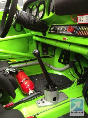 WEVO Shifter Tuthill Rally Car