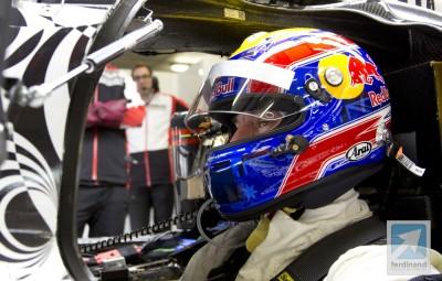 Mark Webber Porsche LMP1 drive testing 2013 8