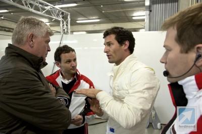 Mark Webber Porsche LMP1 drive testing 2013 9