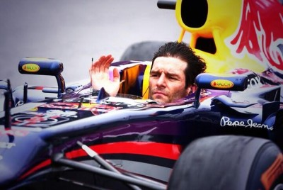 Webber No Helmet
