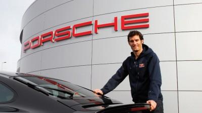 Webber Porsche Silverstone