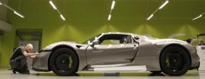 Porsche 918 Assembly