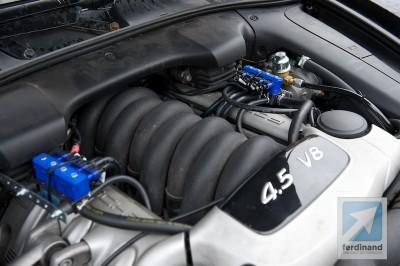 Porsche Cayenne LPG UK conversion 3