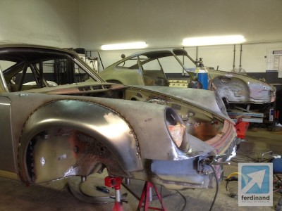 Tuthill Porsche 911 RSR Steel Arches 1