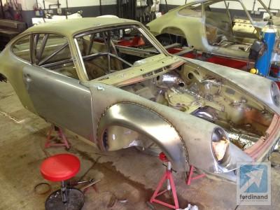 Tuthill Porsche 911 RSR Steel Arches 2