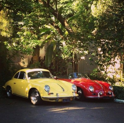 ferdinand porsche 356 speedster brazil barn find. Black Bedroom Furniture Sets. Home Design Ideas