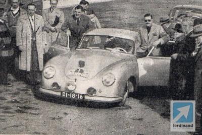 Fernando Stock Porsche 356 1953 Monte 1