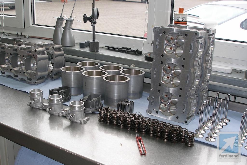 Manthey Porsche 997 Gt3 Engine 4 4 Litre Upgrade Ferdinand