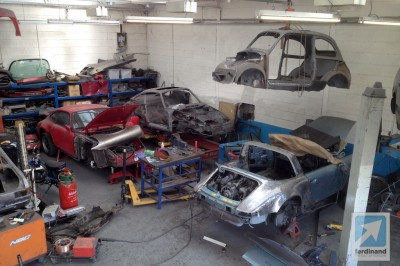 Porsche 911 Racing Restorations UK Rust Repair Fiat 500