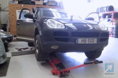 Porsche Cayenne Gearbox Repair (2)