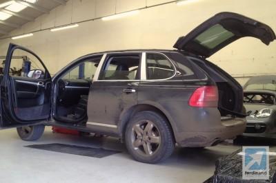 Porsche Cayenne Gearbox Repair