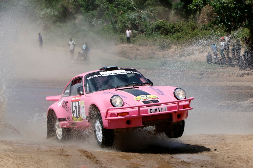 Tuthill Porsche South Africa Rally with Safari 911s