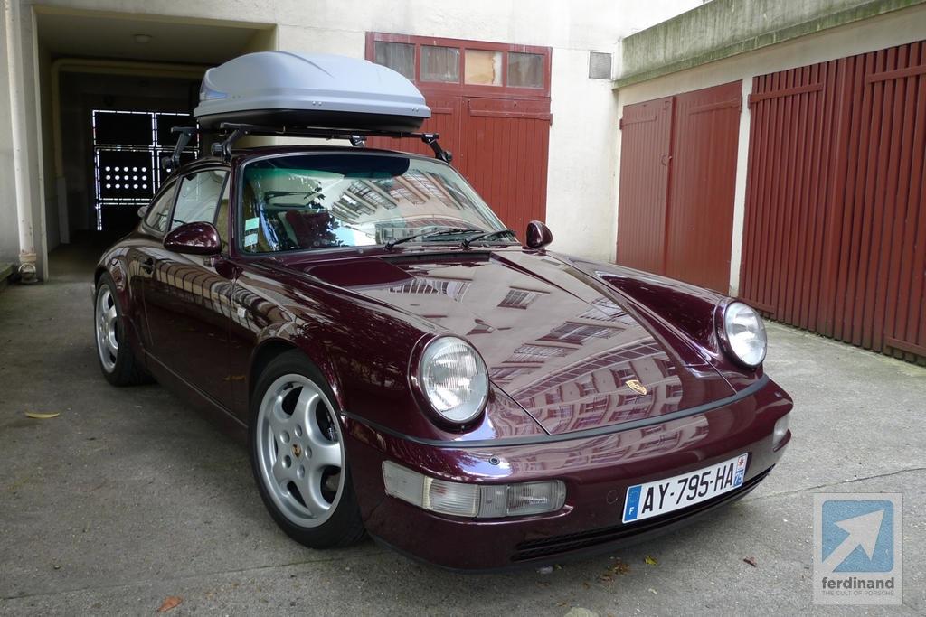 Porsche 911 964 Roof Box & Use your Classic Porsche: 911 Coupe with Roof Box memphite.com