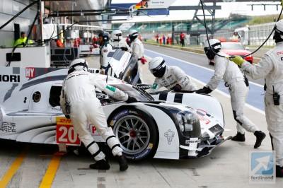 Porsche 919 Silverstone Debut