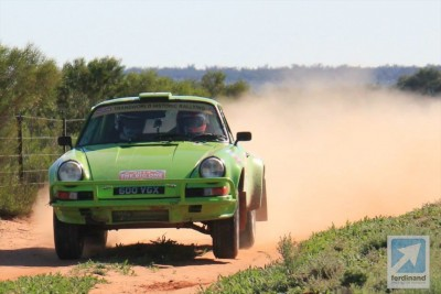 Tuthill Porsche Sydney London Rally 2014
