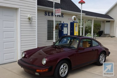 Porsche Ruby Red 911 3.2 Carrera  (1)