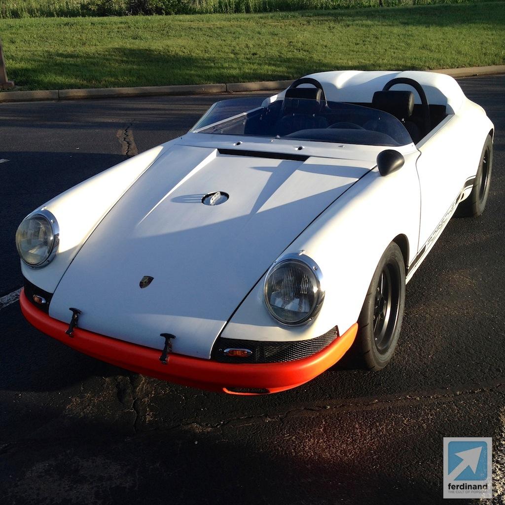 Wicked Butzi 1971 Porsche 911 Custom Targa Speedster