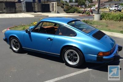 Porsche 911S impact bumper project Ferdinand 2