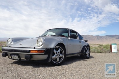 Porsche 930 911 Turbo Carrera drive 6